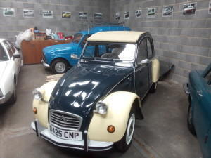 2CV at ACE Classic cars