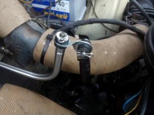 2CV gear linkage
