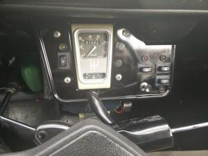 2 CV dashboard (1987 Dolly)