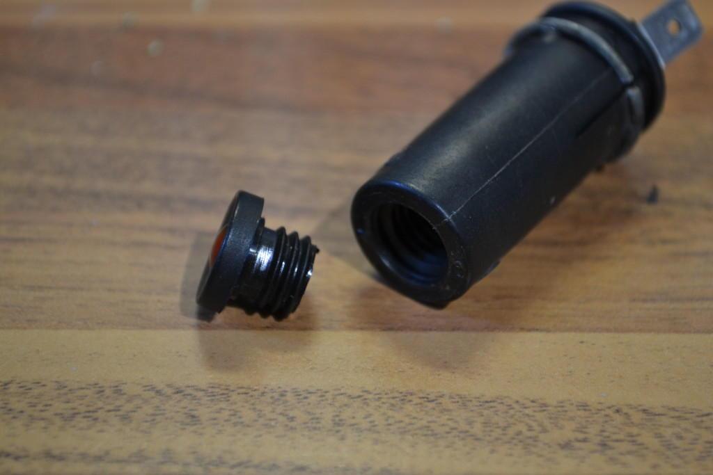 2CV instrument light holder