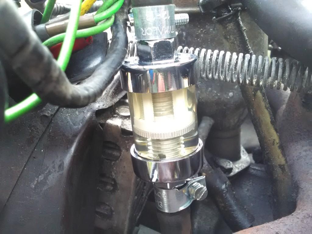 2CV fuel filter