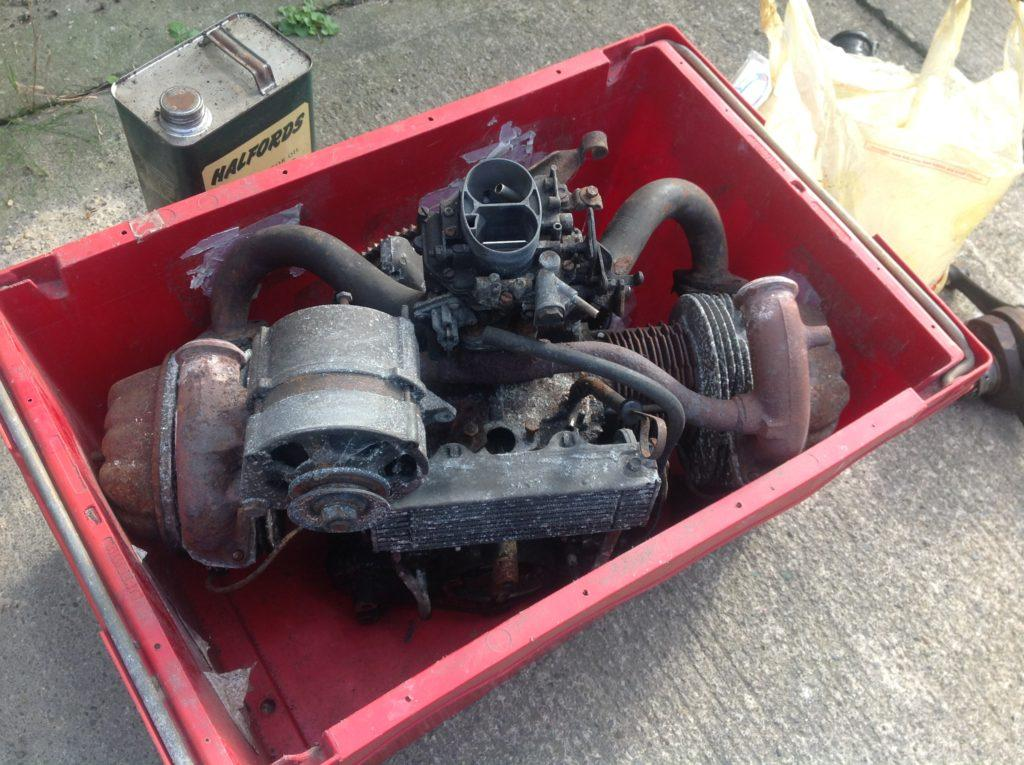 Spares or repair 2CV engine