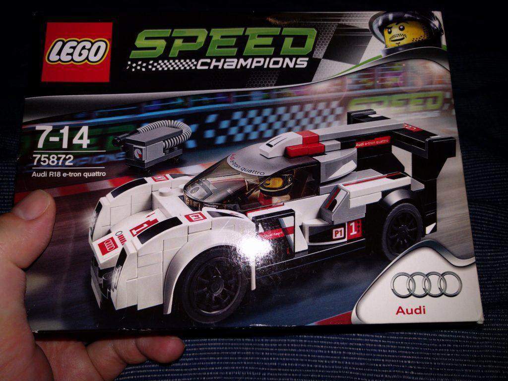 Lego Audi R18 e-tron quattro 75872