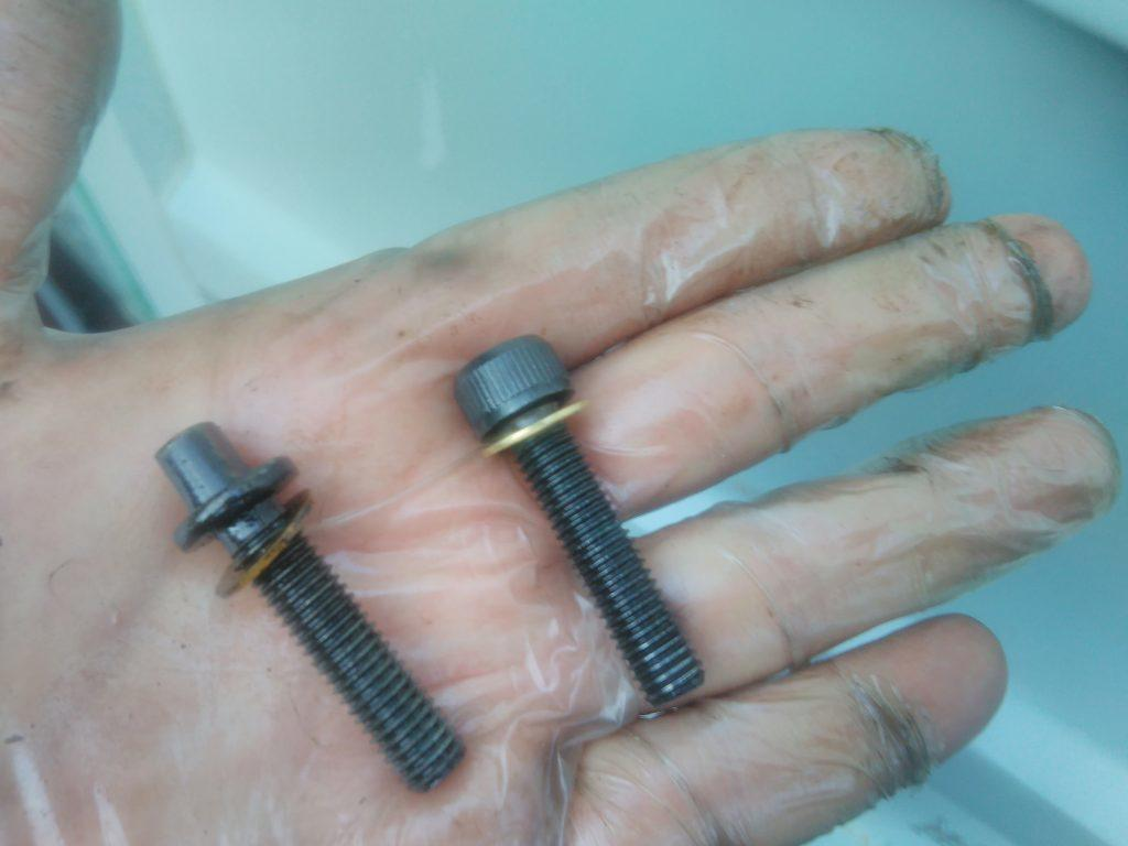 2CV rocker pivot bolts