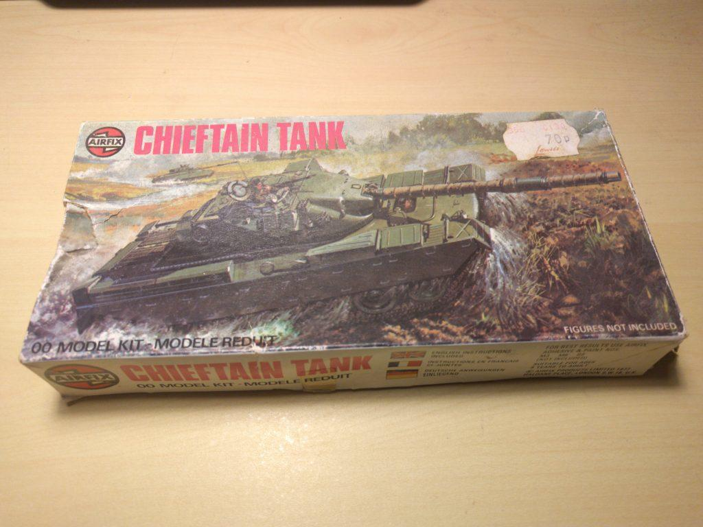 Airfix 1/76 Chieftain box