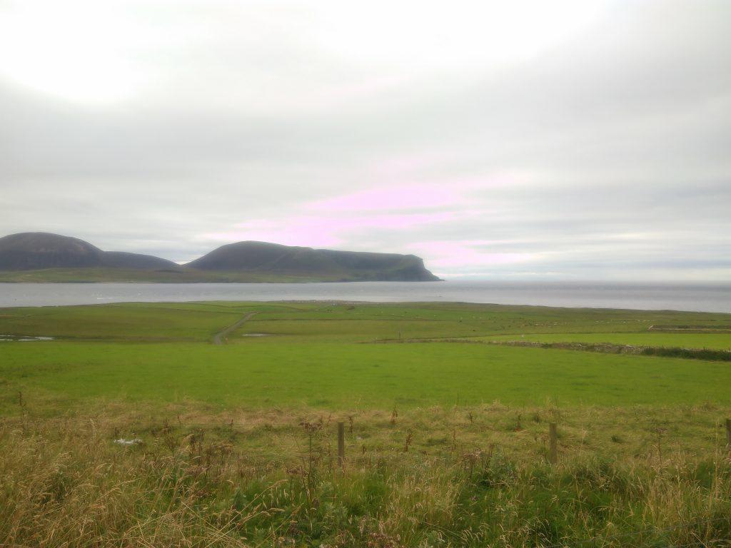 View from Hoy No 1 Battery