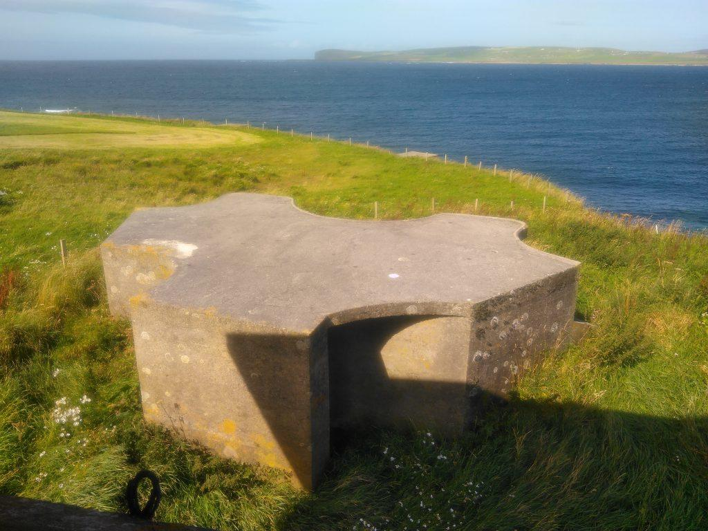 Skerry Battery gun emplacement