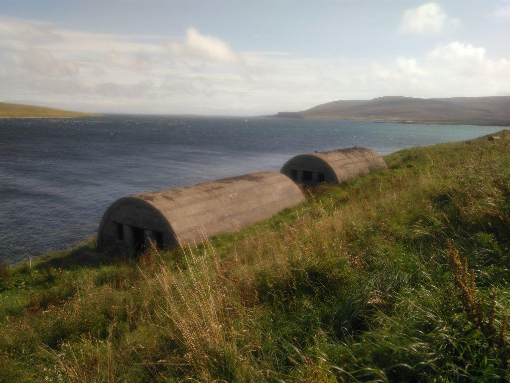 Skerry Battery nissen huts
