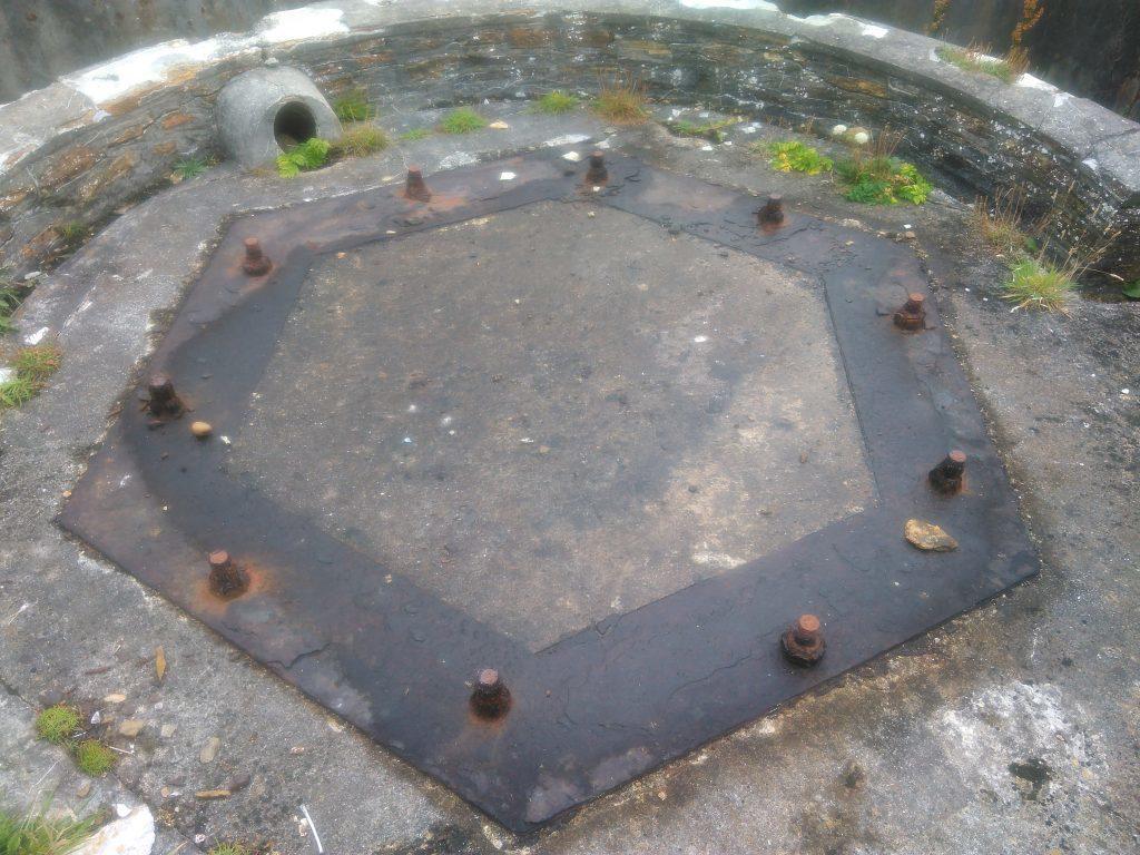 Graemsay gun emplacement
