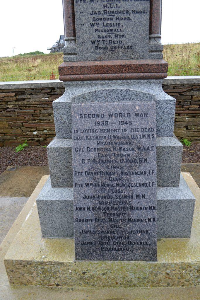 Westray War Memorial