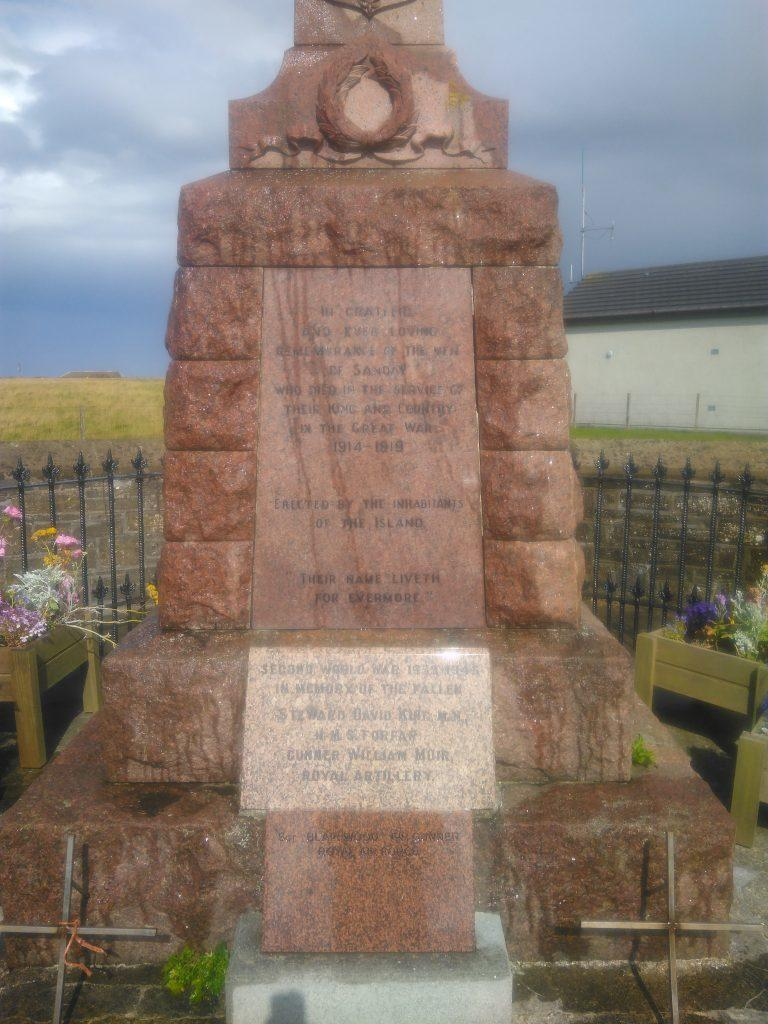 Sanday War Memorial