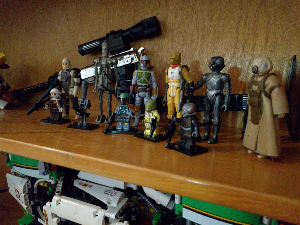 Lego and Kenner bounty hunters