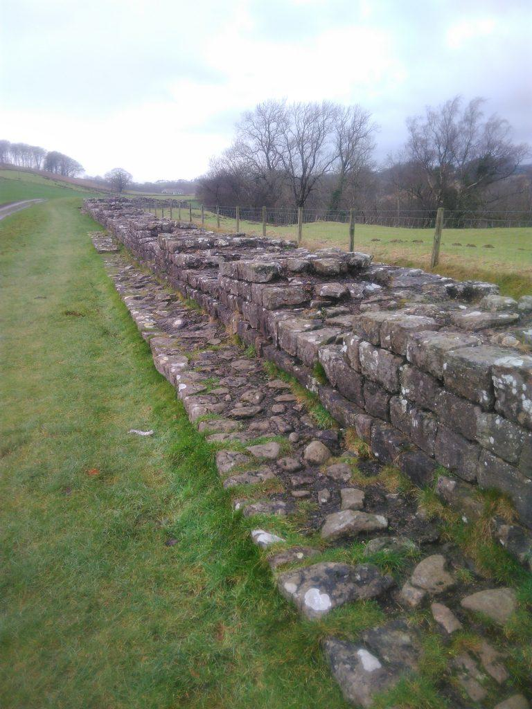 Hadrian's Wall at Gilsland