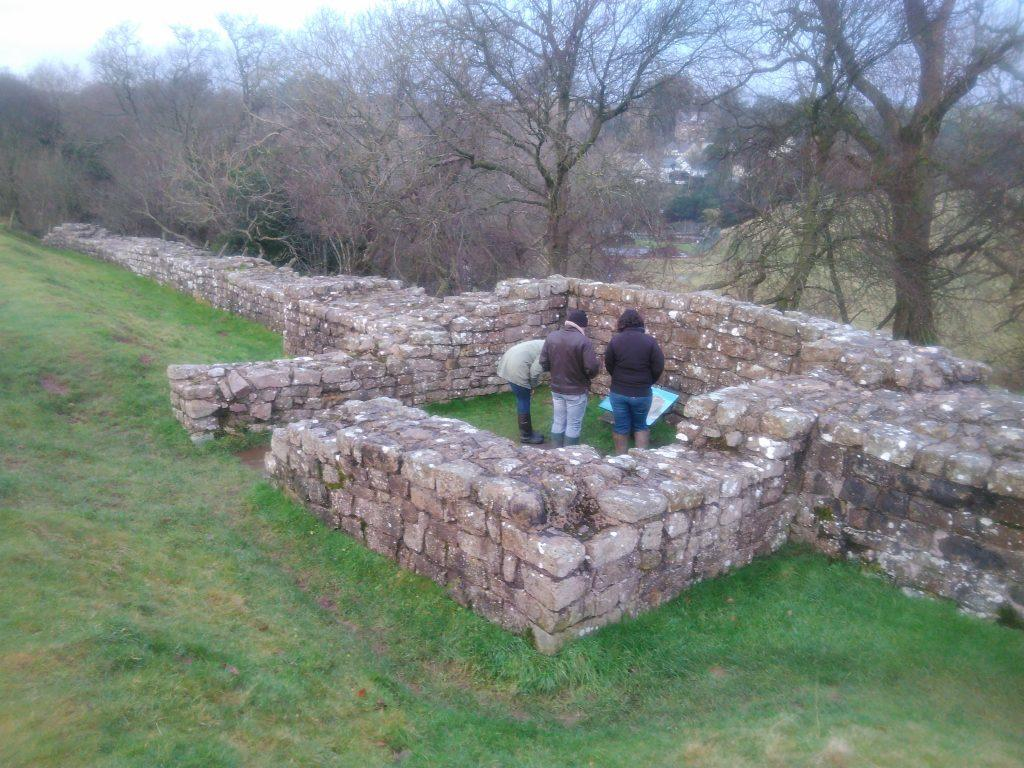 Milecastle at Gilsland