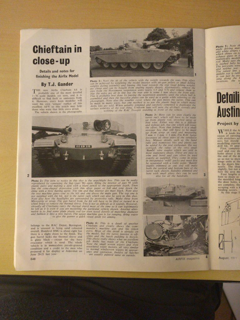 Airfix Magazine August 1971 - Page 648