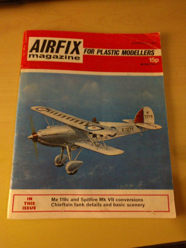 Airfix Magazine August 1971 - Cover