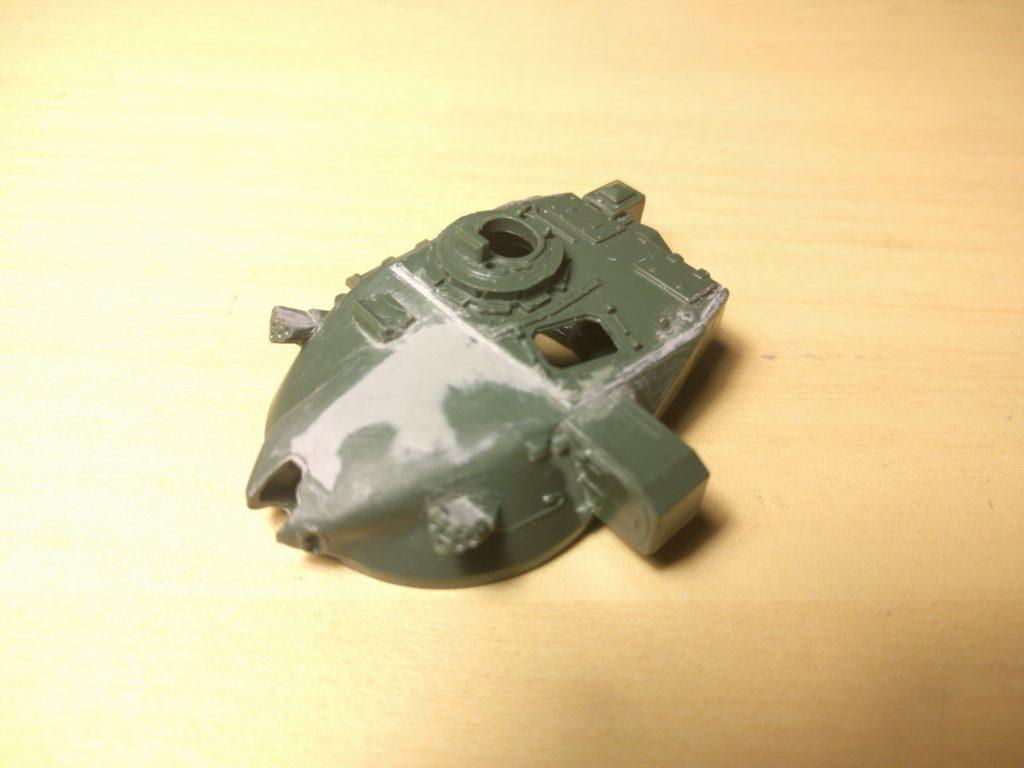Airfix Chieftain turret