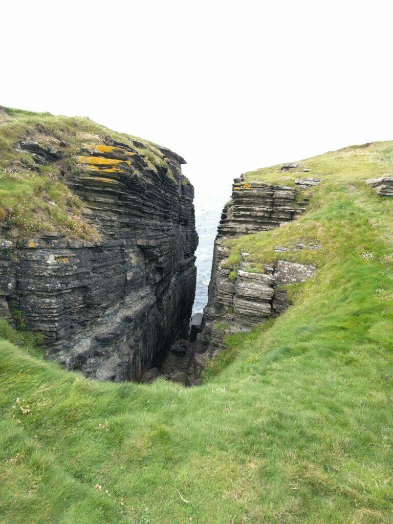 Cliffs on the Brough of Birsay